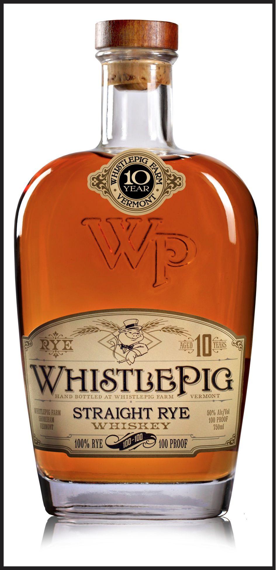 WhistlePig 100-100 Straight Rye Whiskey