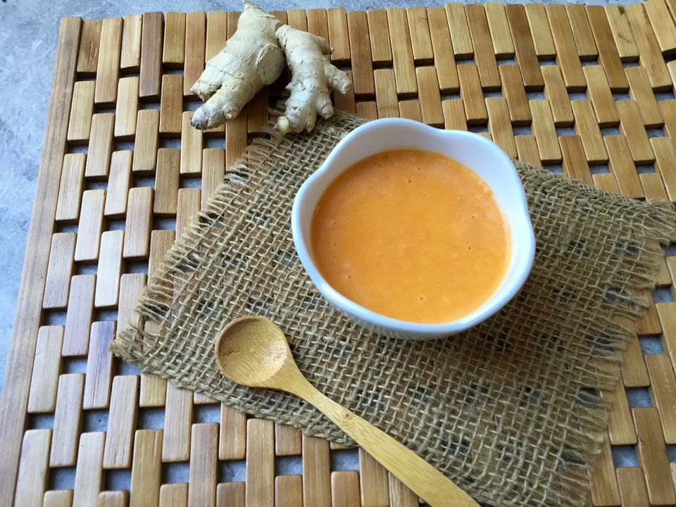 Ginger Onion Carrot Salad Dressing