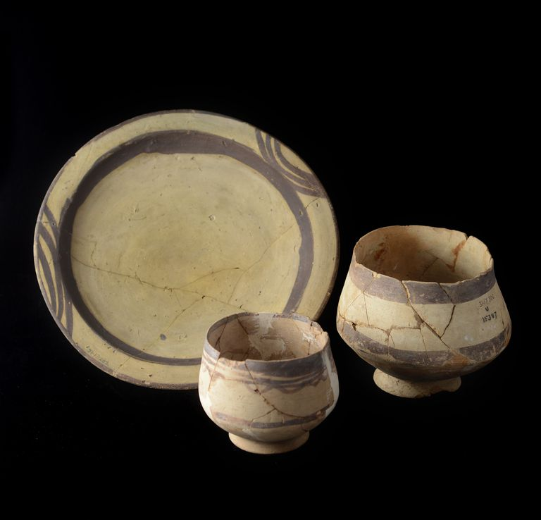 Ubaid Period Pots from Ur