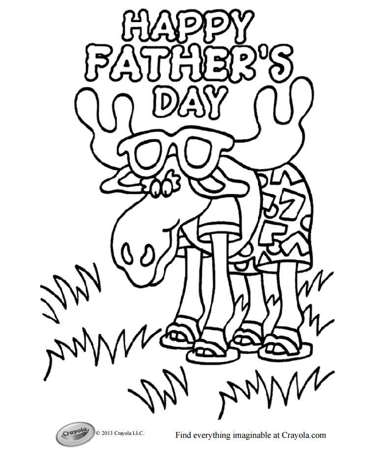 Coloring Sheets Father S Day