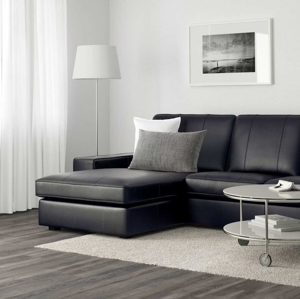 Sofa ikea leder  IKEA Kivik Sofa Series Review