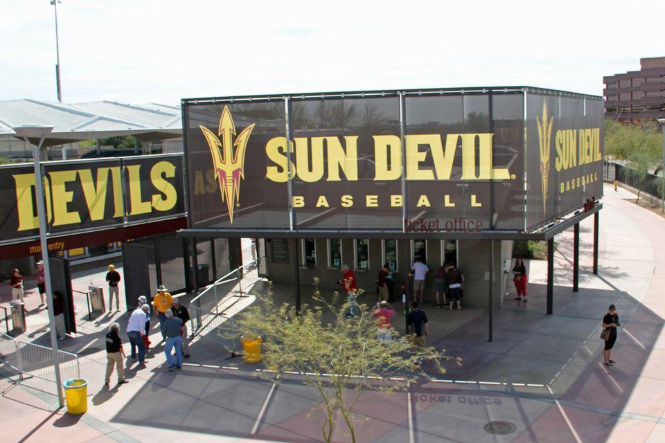ASU Sun Devil Baseball in Phoenix