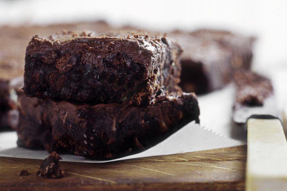 Vegan Chocolate banana brownies