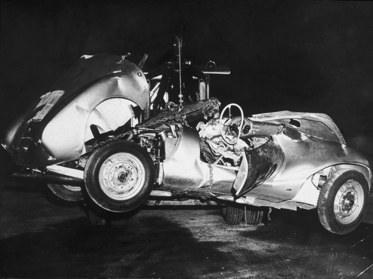 James Dean Death In A Car Accident September 30 1955