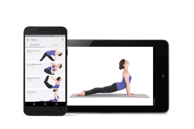 Gaiam's Yoga Studio App