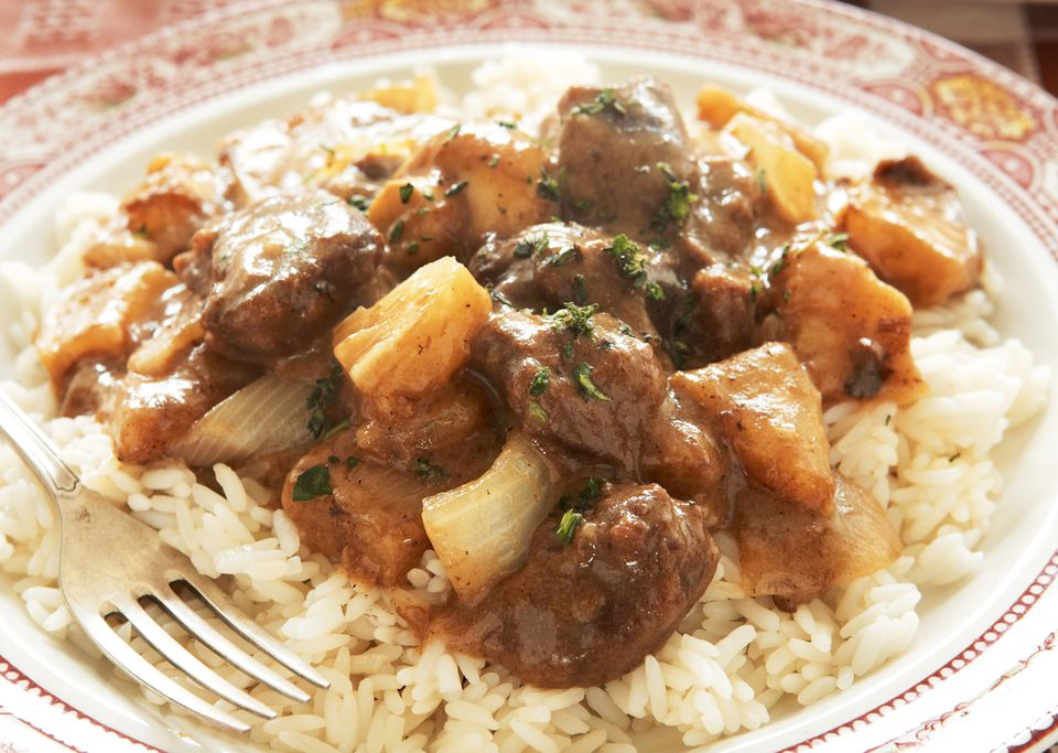 Sweet and Sour Venison with Pineapple