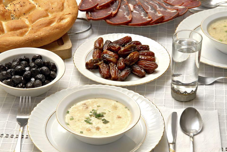 Turkish 'iftar' table