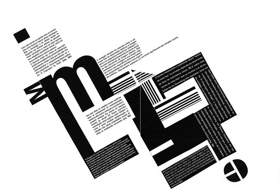 typography art layout
