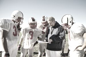 coaches and players rely on athletic trainers' assistance.