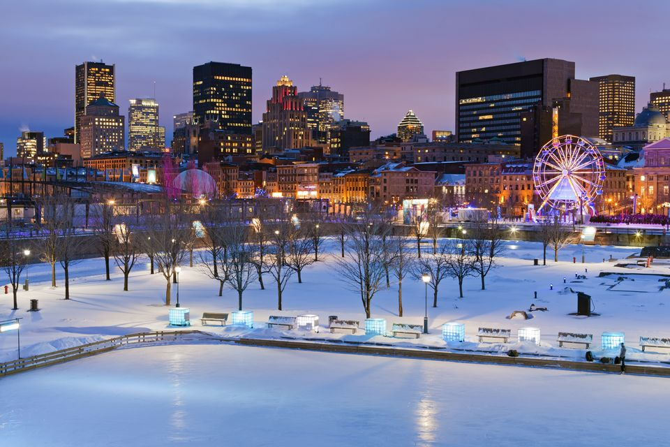 Montreal iceskating rink