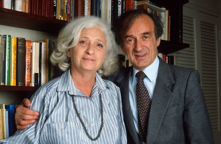 Holocaust survivor and author Elie Wiesel and his wife, Marion.