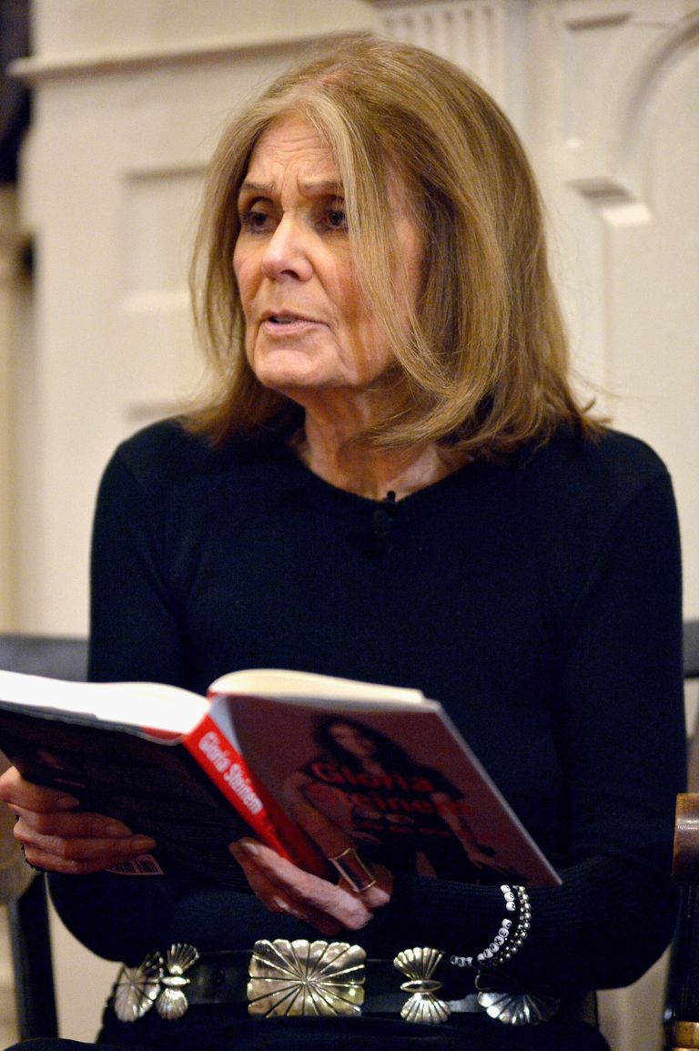 Gloria Steinem Discusses 'My Life On The Road'