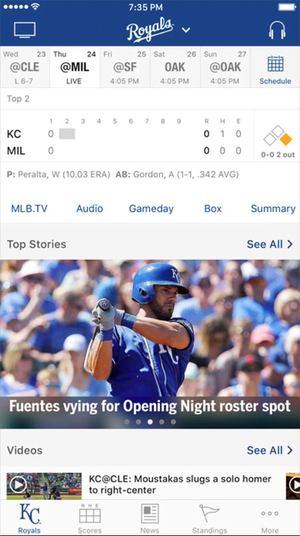 MLB at Bat app