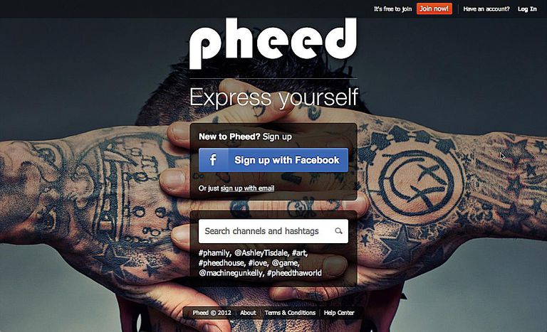 Subscribirse a Pheed