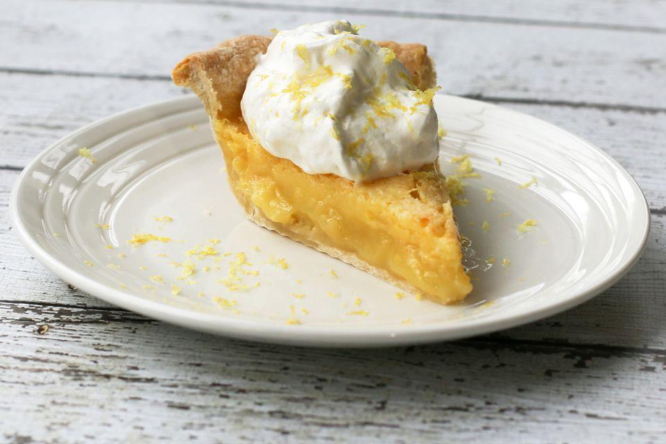 Southern Lemon Chess Pie