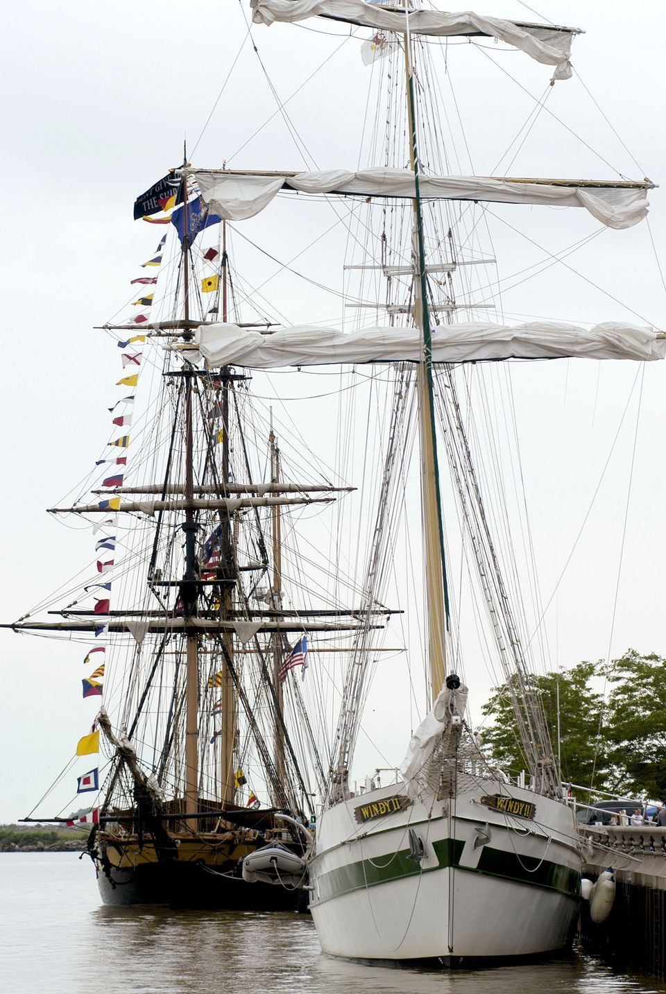 Cleveland Harborfest Hosts Tall Ships