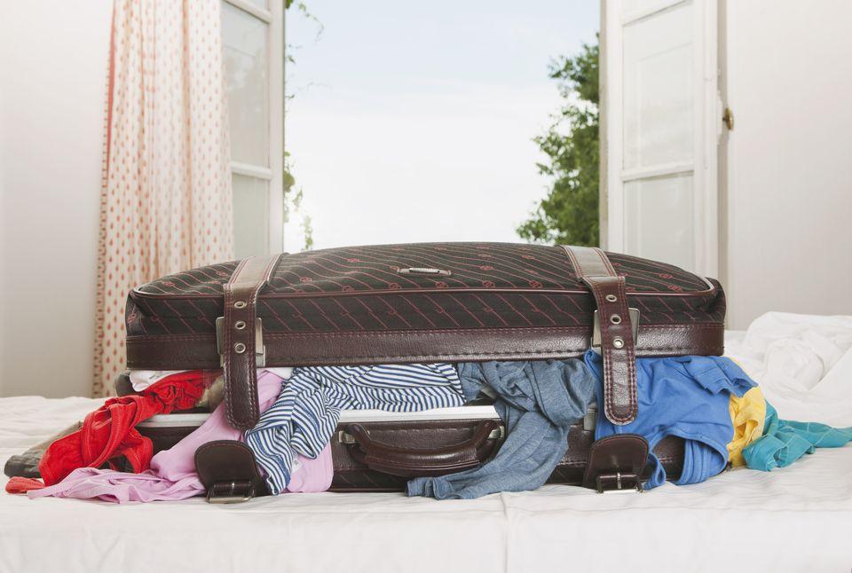laundry traveling