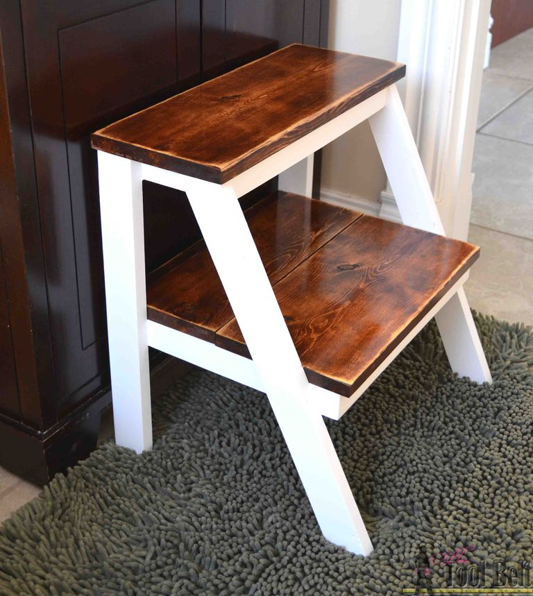 Diy Pallet Step Stool