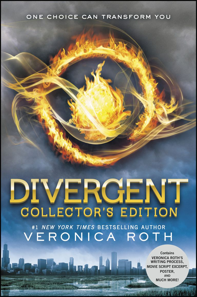 Divergent by Veronica Roth - book cover