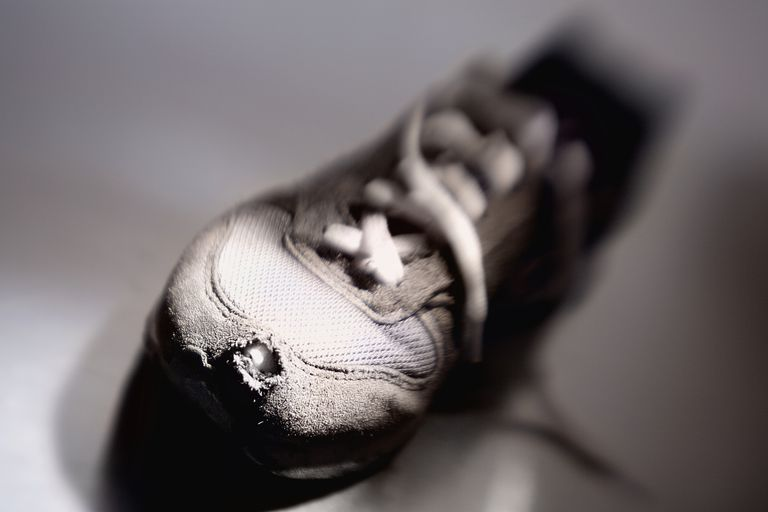 Worn Shoe