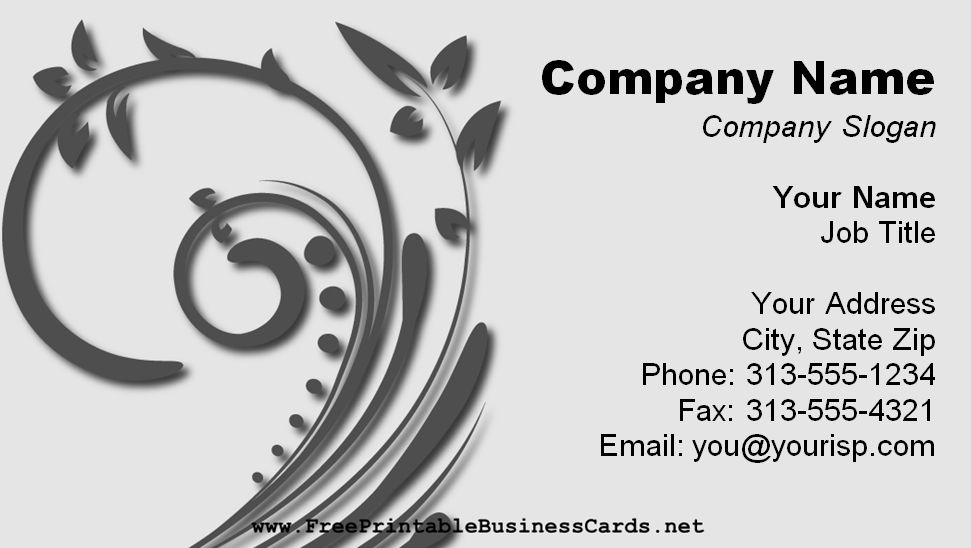 Free Business Card Templates You Can Customize - Free template business cards to print