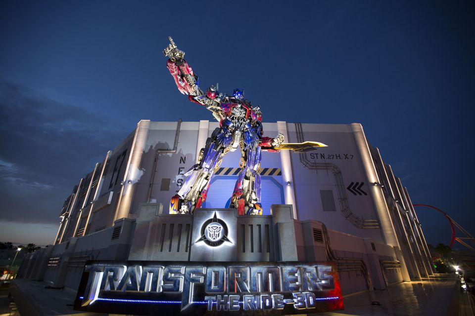 TRANSFORMERS: The Ride-3D at Universal Parks