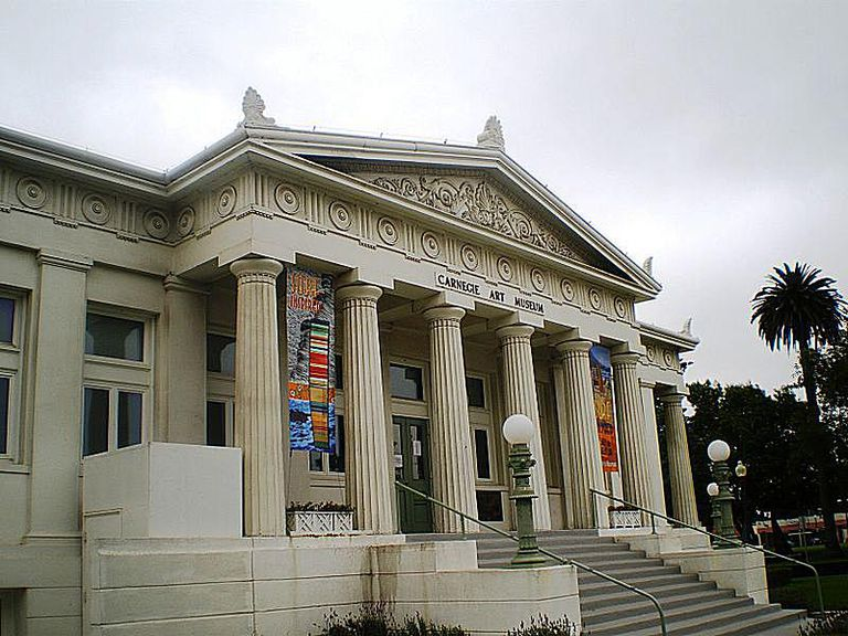 Carnegie Art Museum in Oxnard, California.