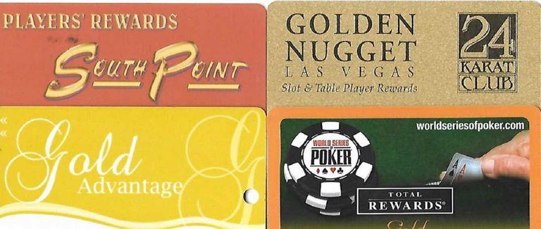 Casino Comp Cards
