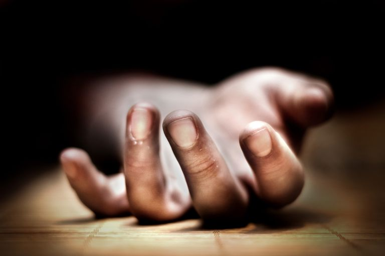 close up of hand on ground