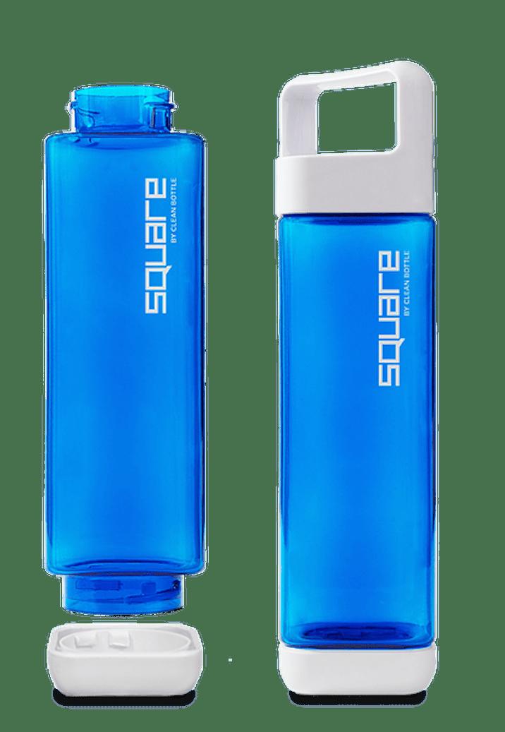 Reusable water bottles are environmentally friendly.
