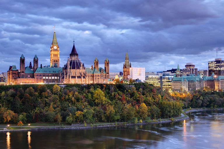 Capital Cities Of Canada - Capital city of different countries