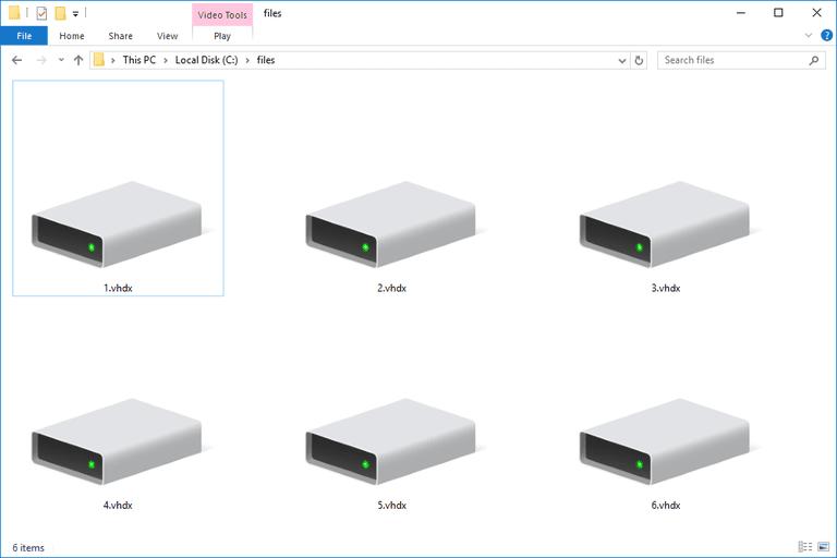 VHDX Files