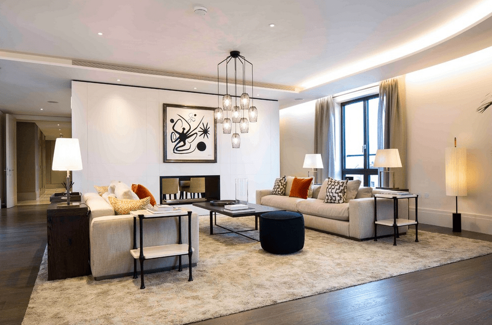 Living Room Table Lamps Decor Ideas For Small Living Room: 15 Beautiful Living Room Lighting Ideas