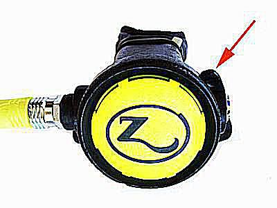 zeagle second stage regulator for scuba diving