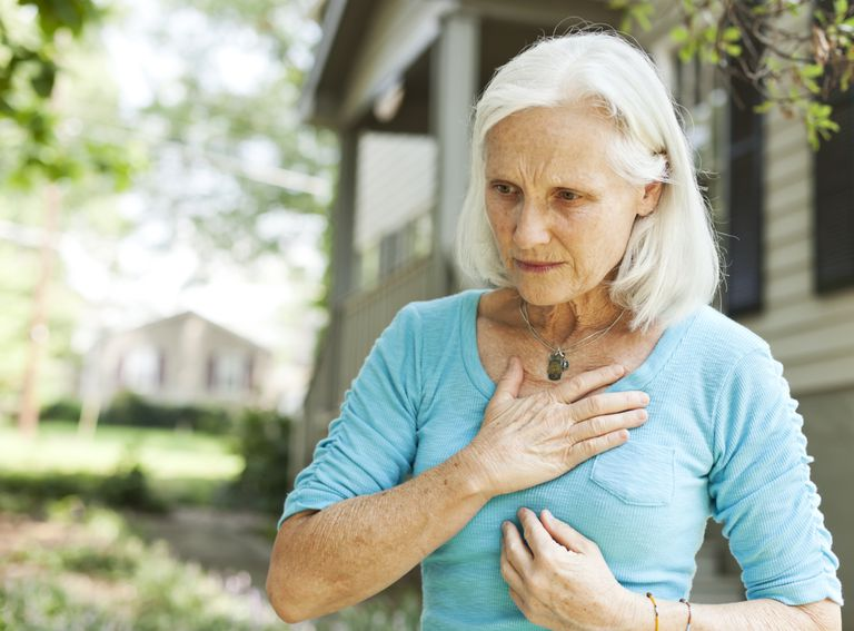 Woman with sharp breast pain wondering what it means