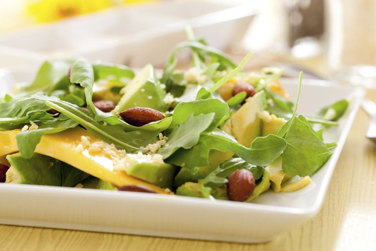 Almonds, avocado and mango are good for your immune system.