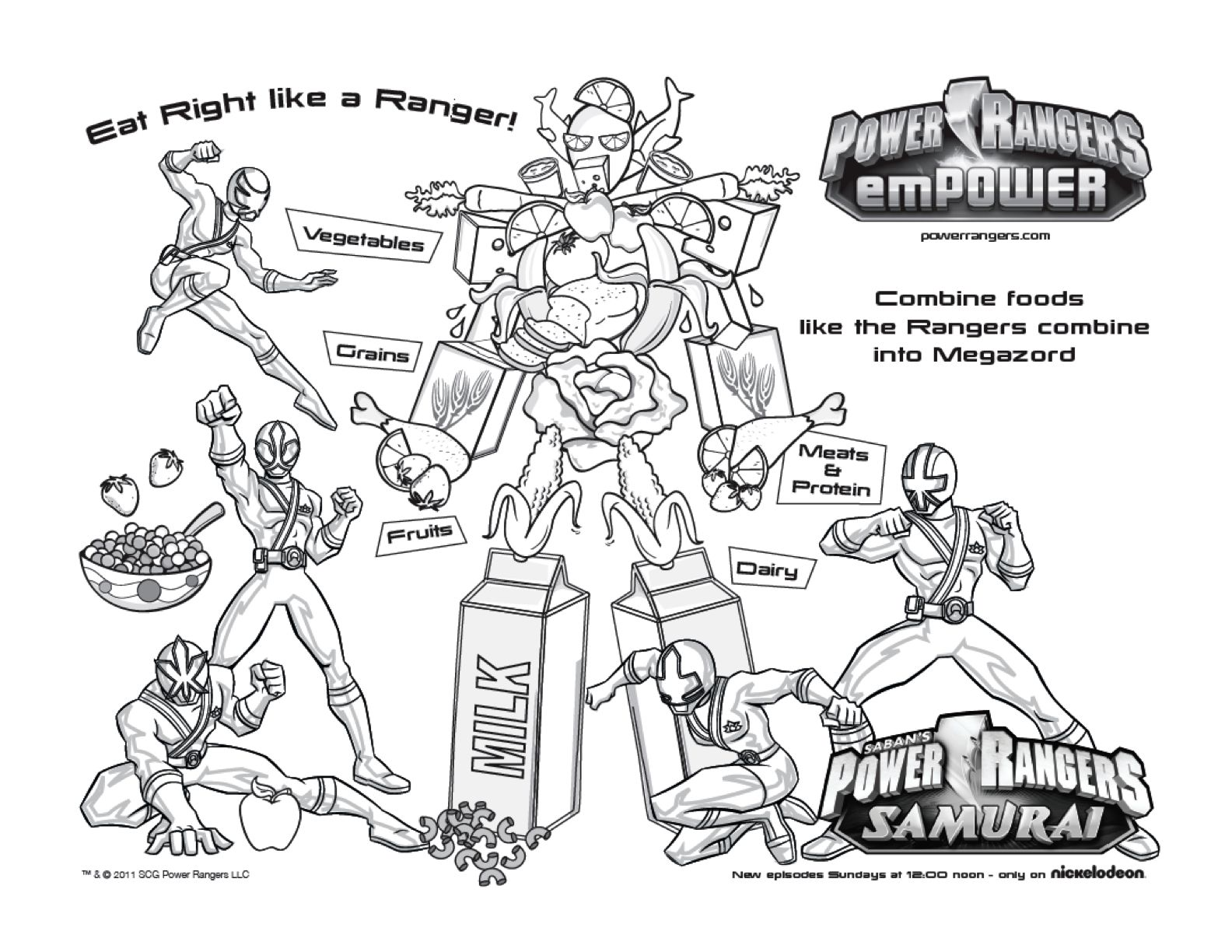 Free Printable Power Rangers Samurai