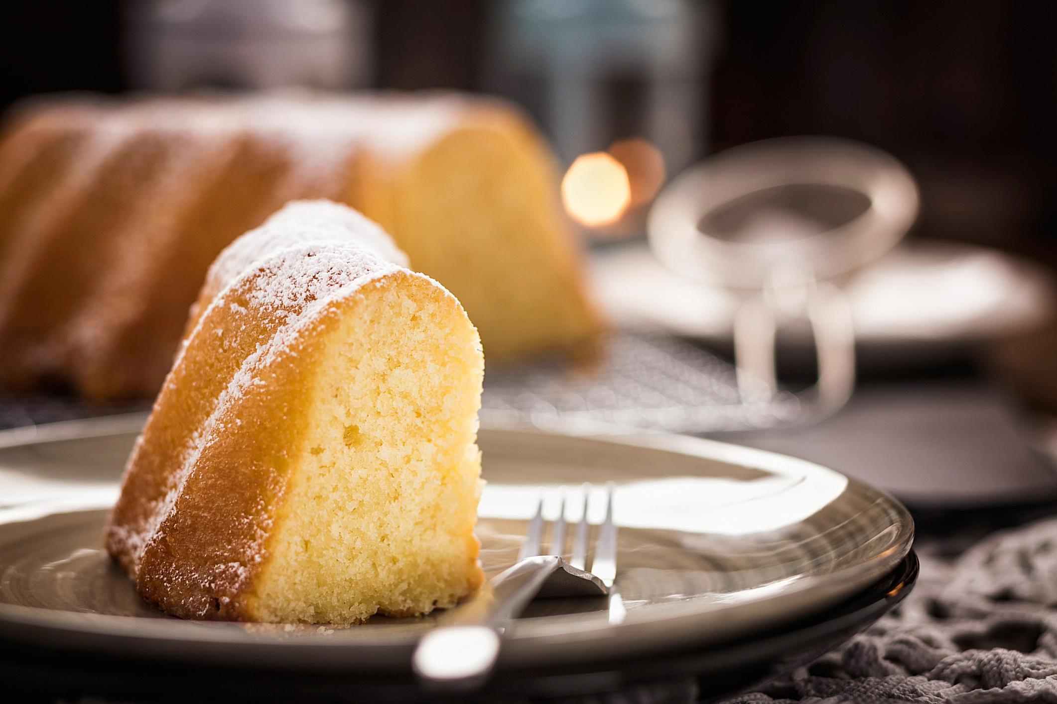 Sour Cream Lemon Cake Recipe