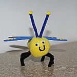 Bug Finger Puppet Craft