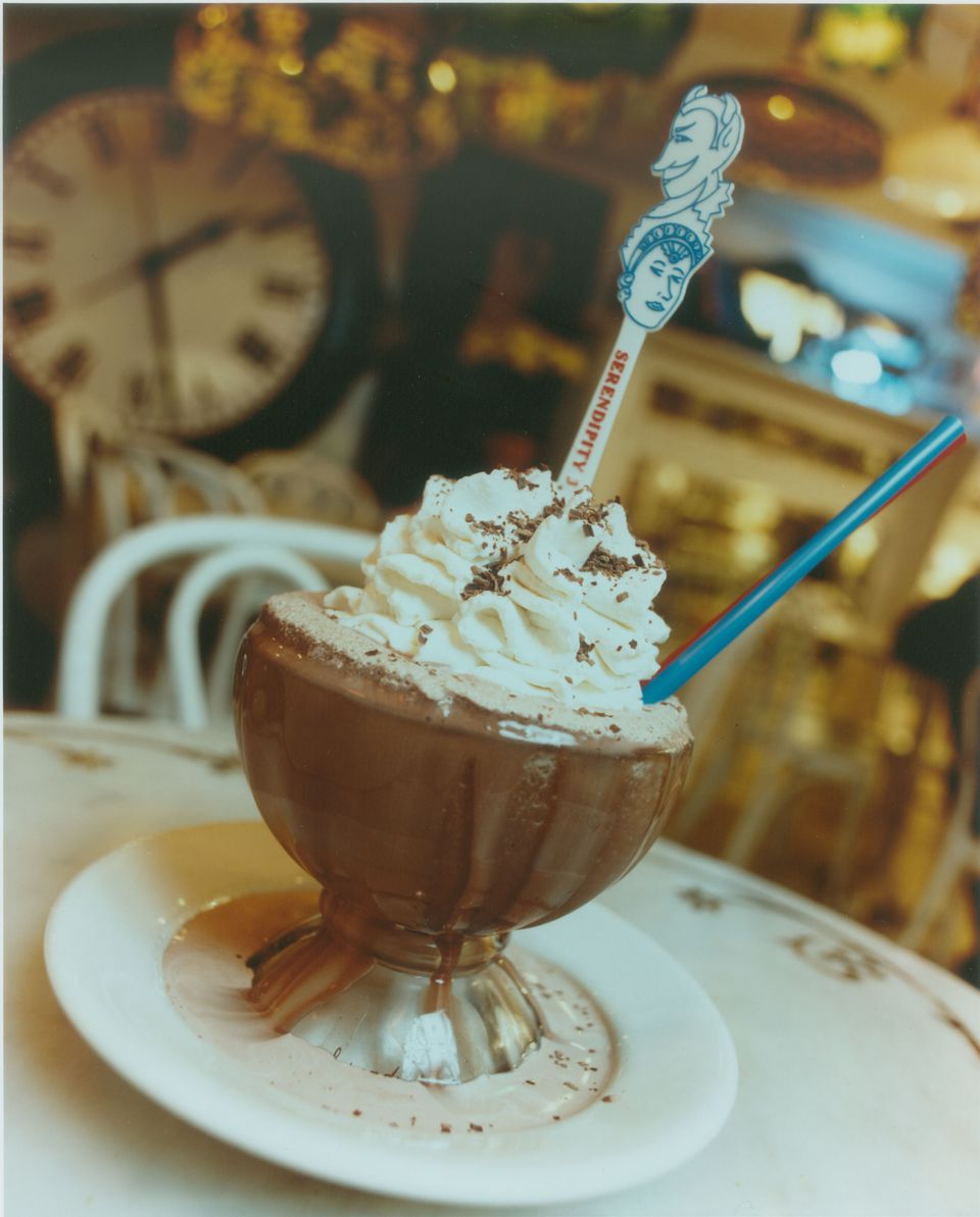 frozen hot chocolate at Serendipity 3