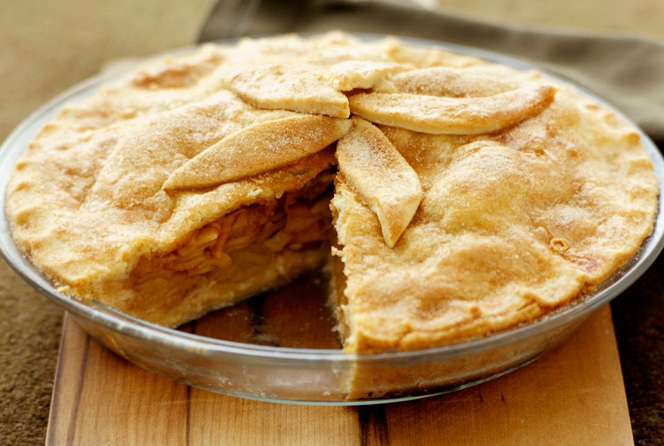 Apple Pie with Bourbon and Raisins