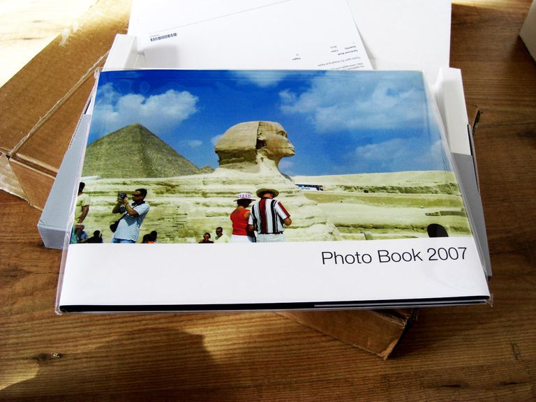 Cover of iPhoto Book