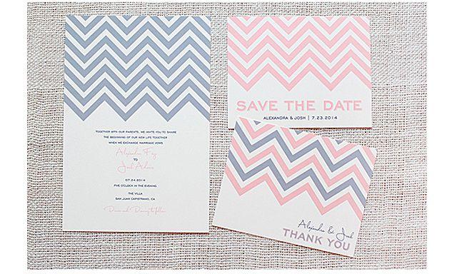 22 free printable wedding invitations chevron printable wedding invitation stopboris Gallery
