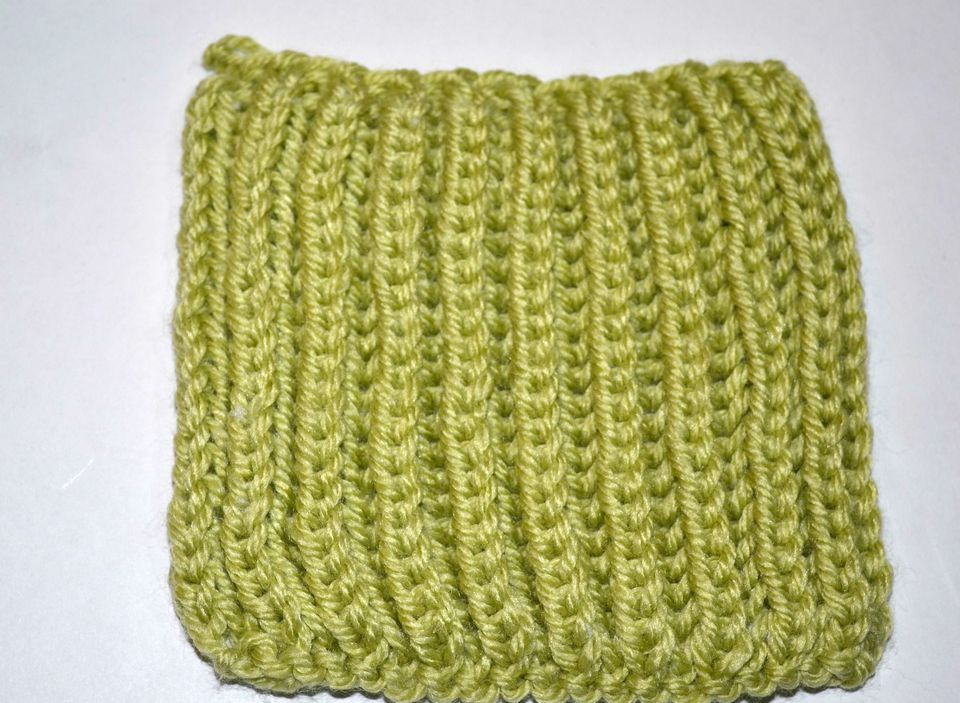 basic brioche stitch knitting pattern