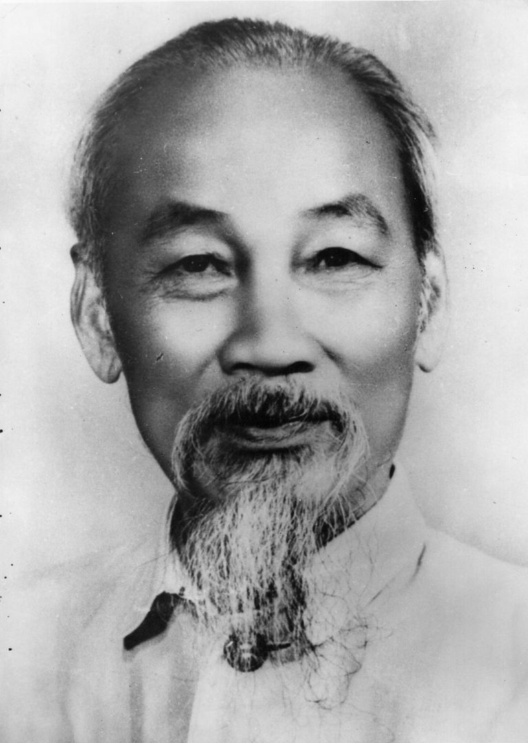 Ho Chi Minh, communist revolutionary leader of Vietnam, shortly before his death