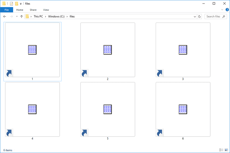 Screenshot of several MAS files in Windows 10 that open with Microsoft Access