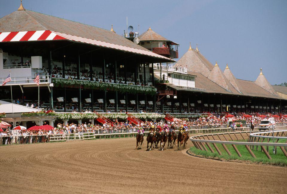 Thoroughbred Race at Saratoga