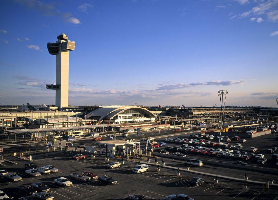 JFK airport new york city usa.