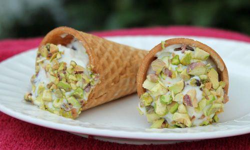 Ice Cream Cone Cannoli