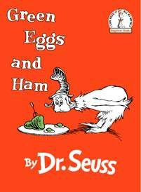 green eggs and ham printables - Green Eggs Ham Coloring Pages